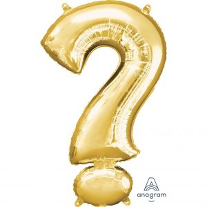 ? Gold Jumbo Foil Balloon