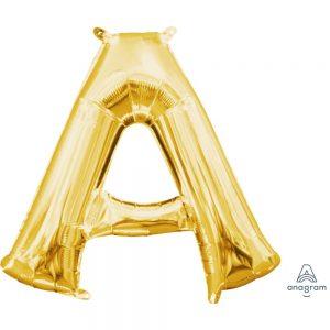 A Gold Jumbo Foil Balloon