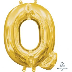 Q Gold Jumbo Foil Balloon
