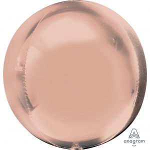 Rose Gold Orbz Foil Balloon