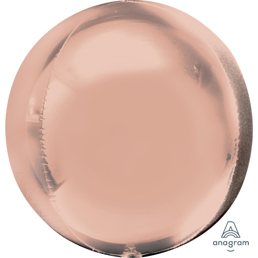 Rose Gold Orbz Foil Balloon