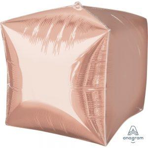 Rose Gold Cubez Foil Balloon