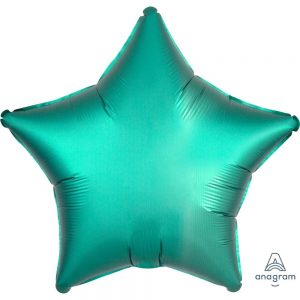 Jade Star Satin Luxe Foil Balloon