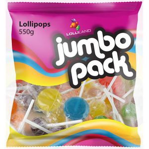 Lollipops Jumbo Pack - 550g