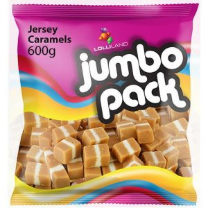 Jersey Caramels Jumbo Pack - 600g