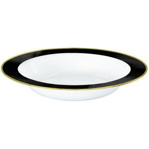 Premium Black and White Bowls