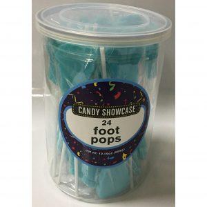Blue Foot Lollipops - 24 Pack