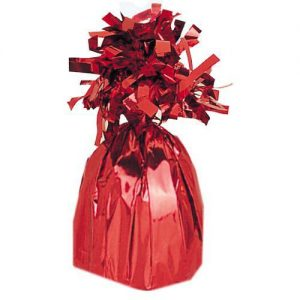 Foil Red Jumbo Balloon Weight