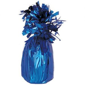 Foil Royal Blue Jumbo Balloon Weight