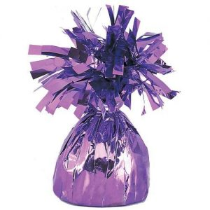 Balloon Weights Foil Lavender
