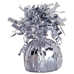 Balloon Weights Foil Silver