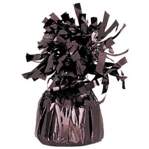 Balloon Weights Foil Black
