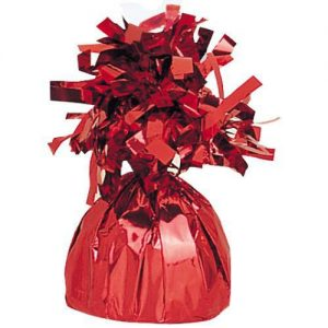 Balloon Weights Foil Red