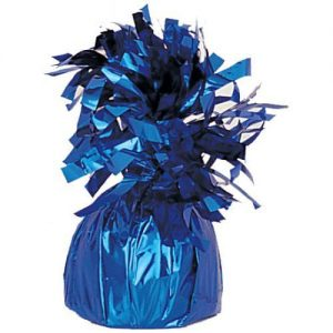 Balloon Weights Foil Royal Blue
