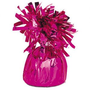 Balloon Weights Foil Magenta