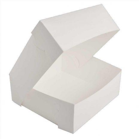 "9"" White Cake Box"