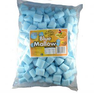 Blue Marshmallows - Bulk 1kg
