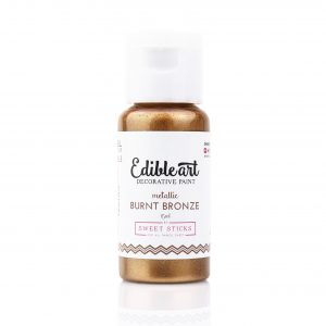 Edible Art Paint 15ml - Burnt Bronze