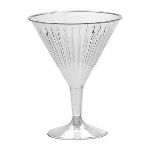Disposable Premium Cocktail Glasses 170-200ml Clear