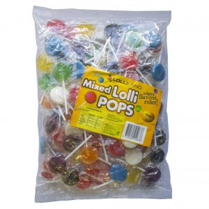 Mixed Flat Lollipops - Bulk 1kg