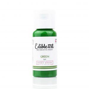 Edible Art Paint 15ml - Green