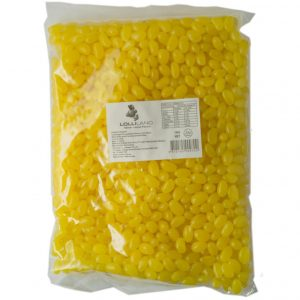 Yellow Jelly Beans - Bulk 1kg