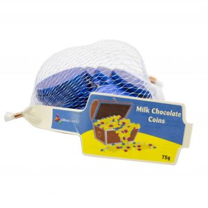 Milk Chocolate Coins - Blue