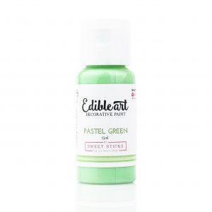 Edible Art Paint 15ml - Pastel Green