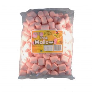 Pink Marshmallows - Bulk 1kg