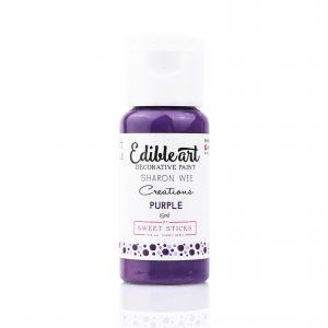Edible Art Paint 15ml - Purple