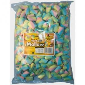 Rainbow Marshmallows - Bulk 1kg
