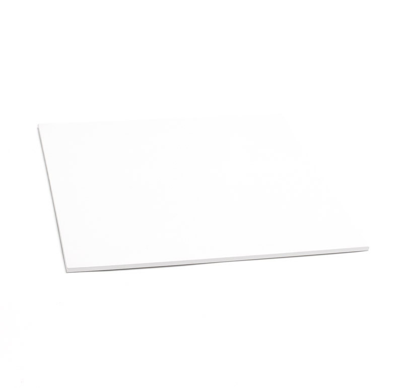 """9"""" White Square Masonite Cake Boards"""