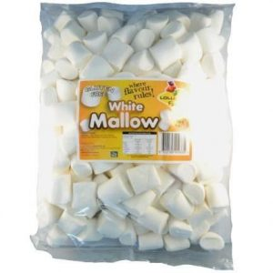 White Marshmallows - Bulk 1kg