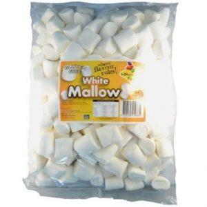 White Marshmallows - Bulk 1kg