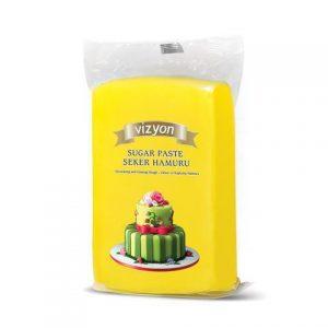 Vizyon Yellow Fondant 1kg