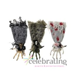 1 x Halloween Party Hanging Severed Witch Hand Assorted designs