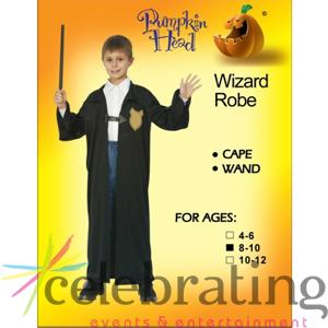 Junior Wizard Kids Costume 8-10