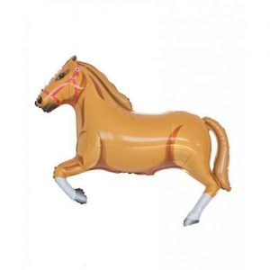 "42"" Tan Horse Supershape Foil Balloon"