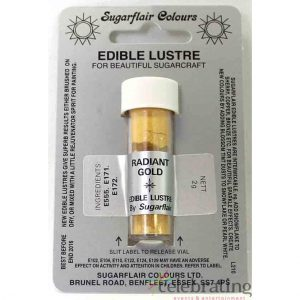 Edible Lustre Radiant Gold
