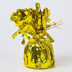 Balloon Weights Foil Gold