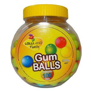 Lolliland Gum Balls 400g