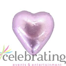 Milk Lilac Chocolate Hearts 1kg 120 pieces