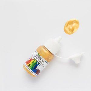 Rolkem Gel Lustre Paint Aztech Gold 15ml