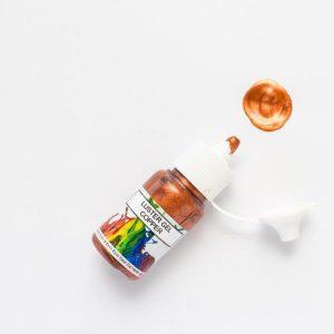 Rolkem Gel Lustre Paint Copper 15ml