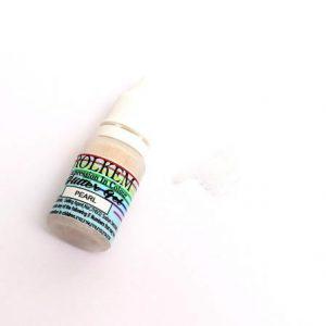 Rolkem Glitter Gel Pearl White 15ml