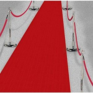 Hire a Red Carpet Runner - 1 metres x 10 metres