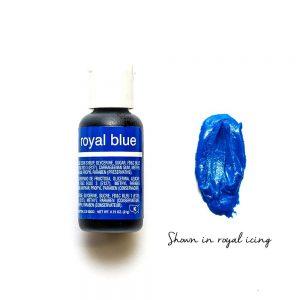 Chefmaster Liqua-Gel ROYAL BLUE