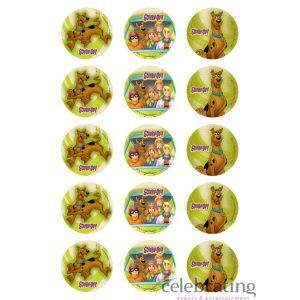 Scooby Doo Cupcake Edible Images 15pk